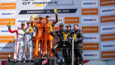 Orange1 by GRT Grasser secure first win of season in ADAC GT Masters at Zandvoort